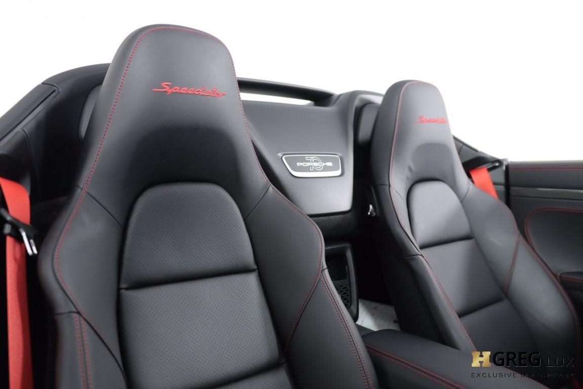 2019 Porsche 911 Speedster #35