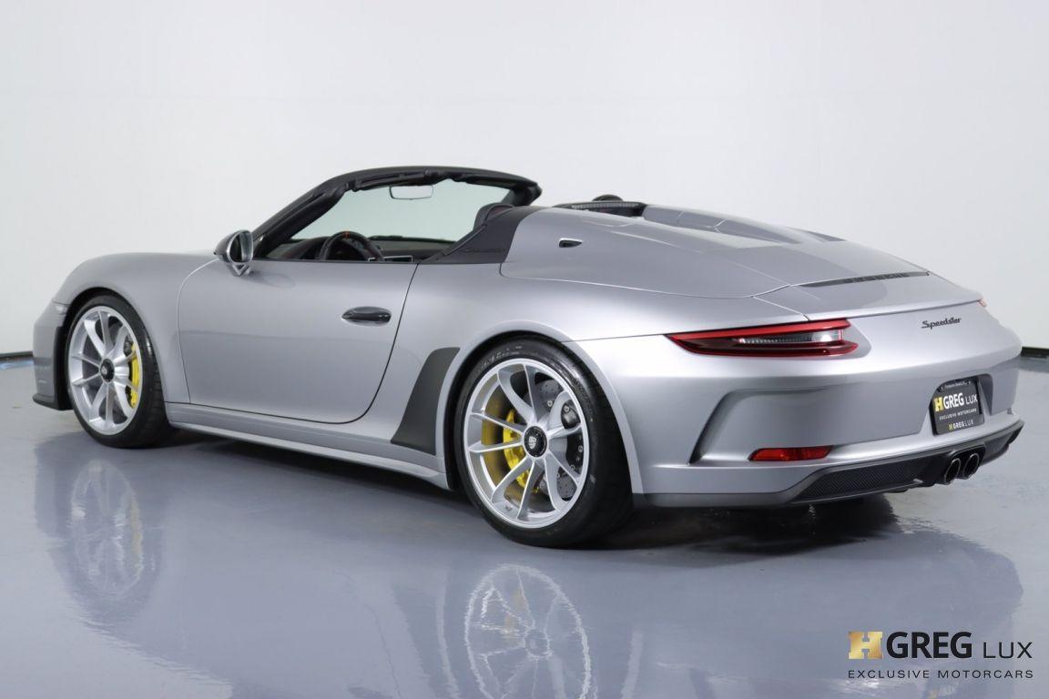 2019 Porsche 911 Speedster #25