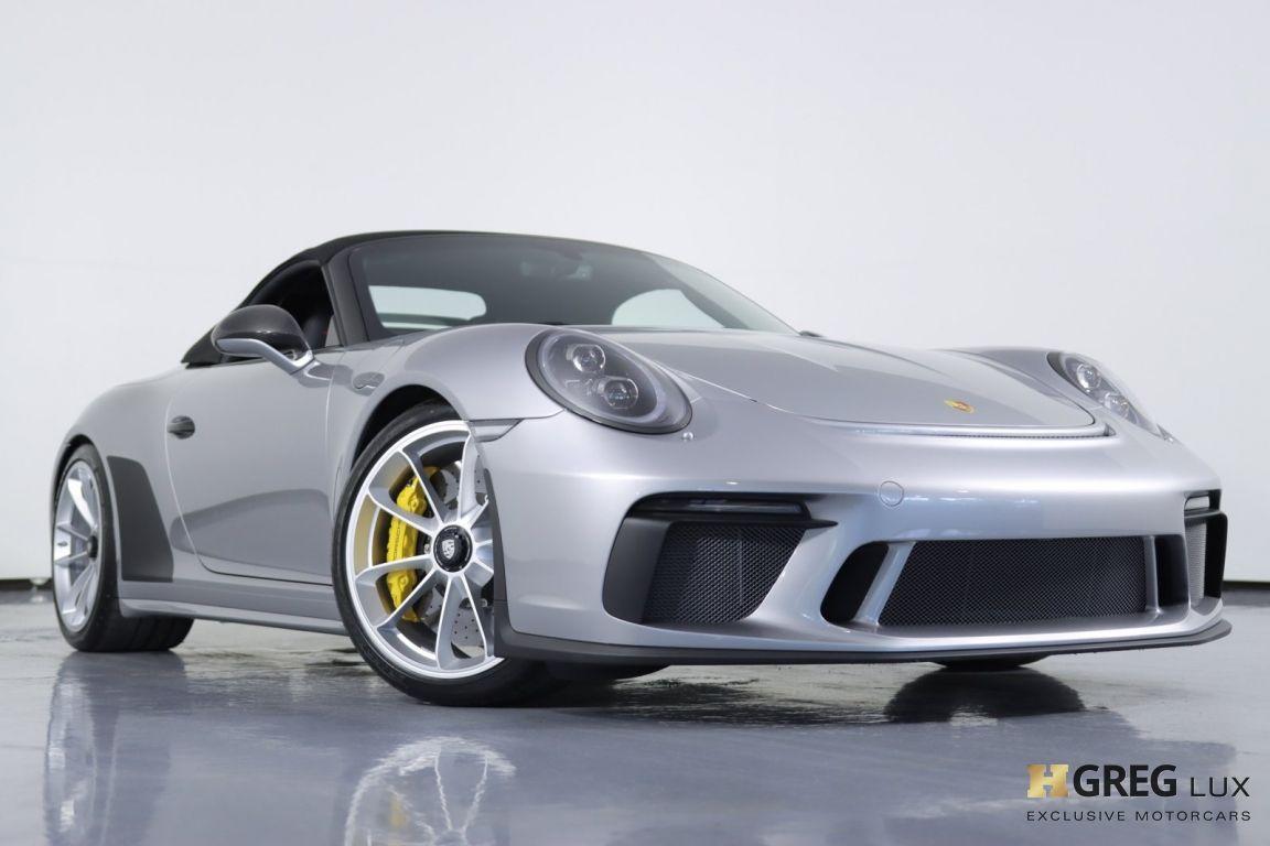2019 Porsche 911 Speedster #4