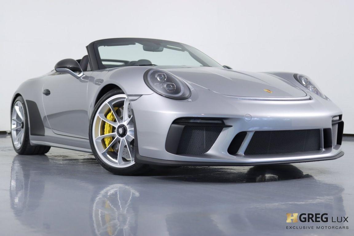 2019 Porsche 911 Speedster #5