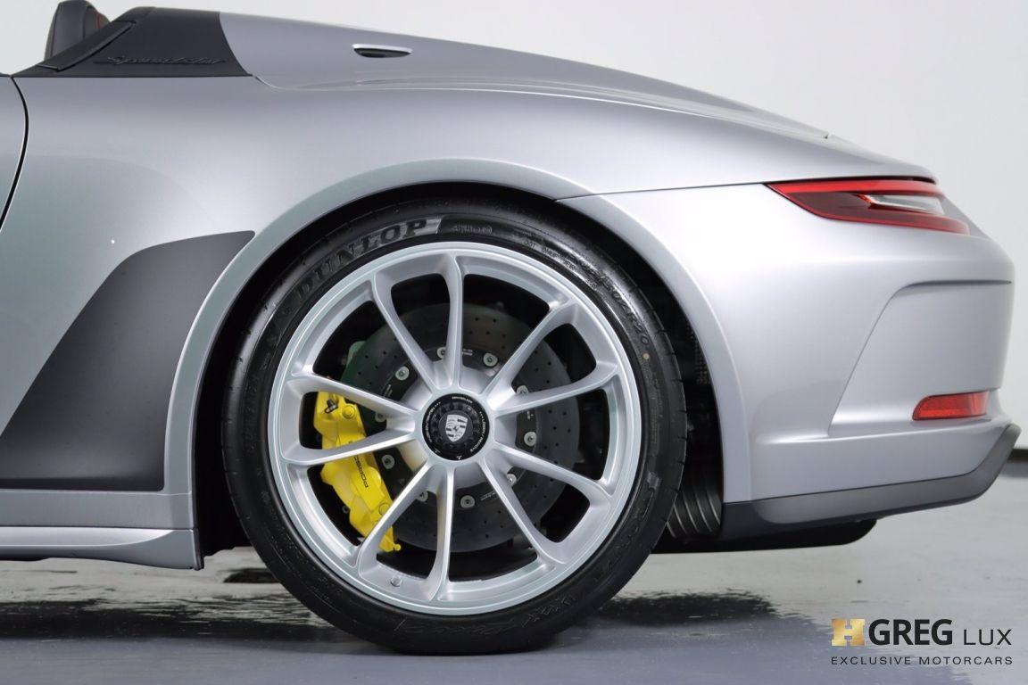 2019 Porsche 911 Speedster #30