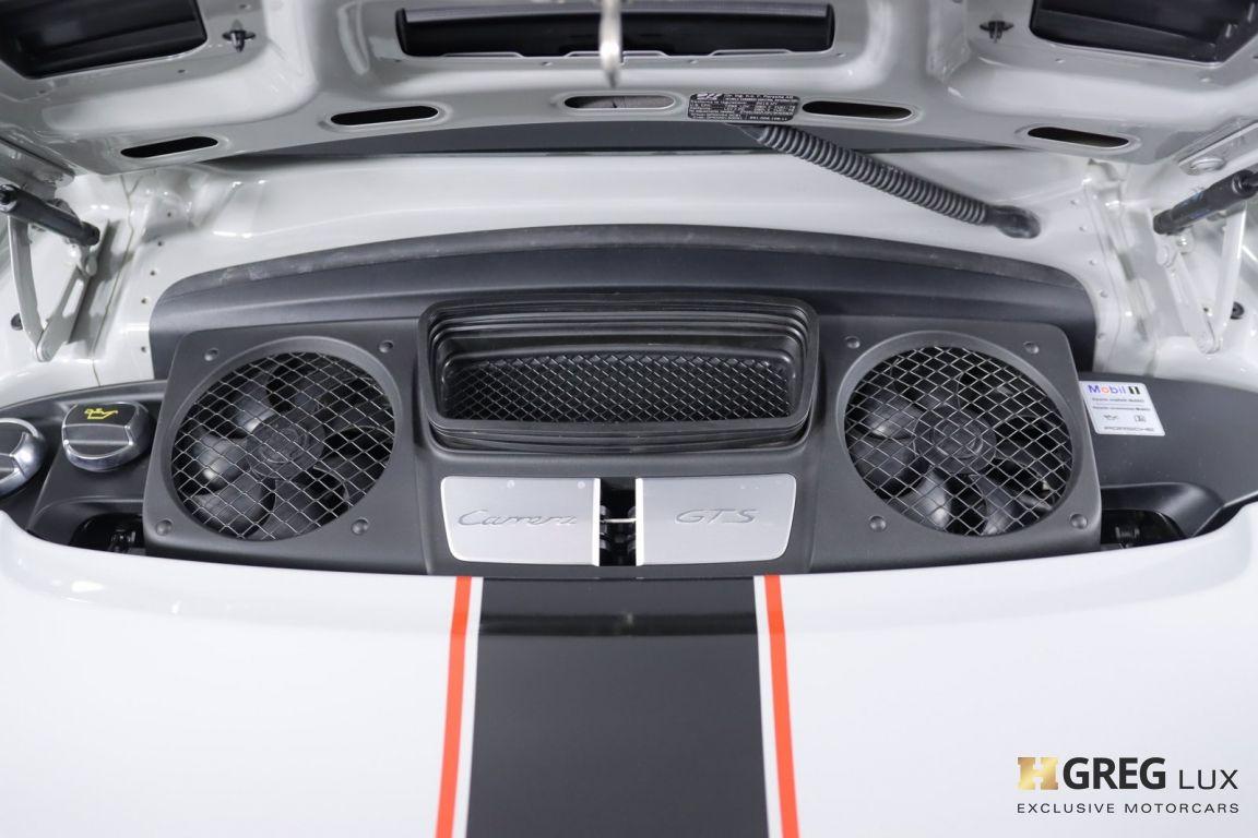 2016 Porsche 911 Carrera GTS #50