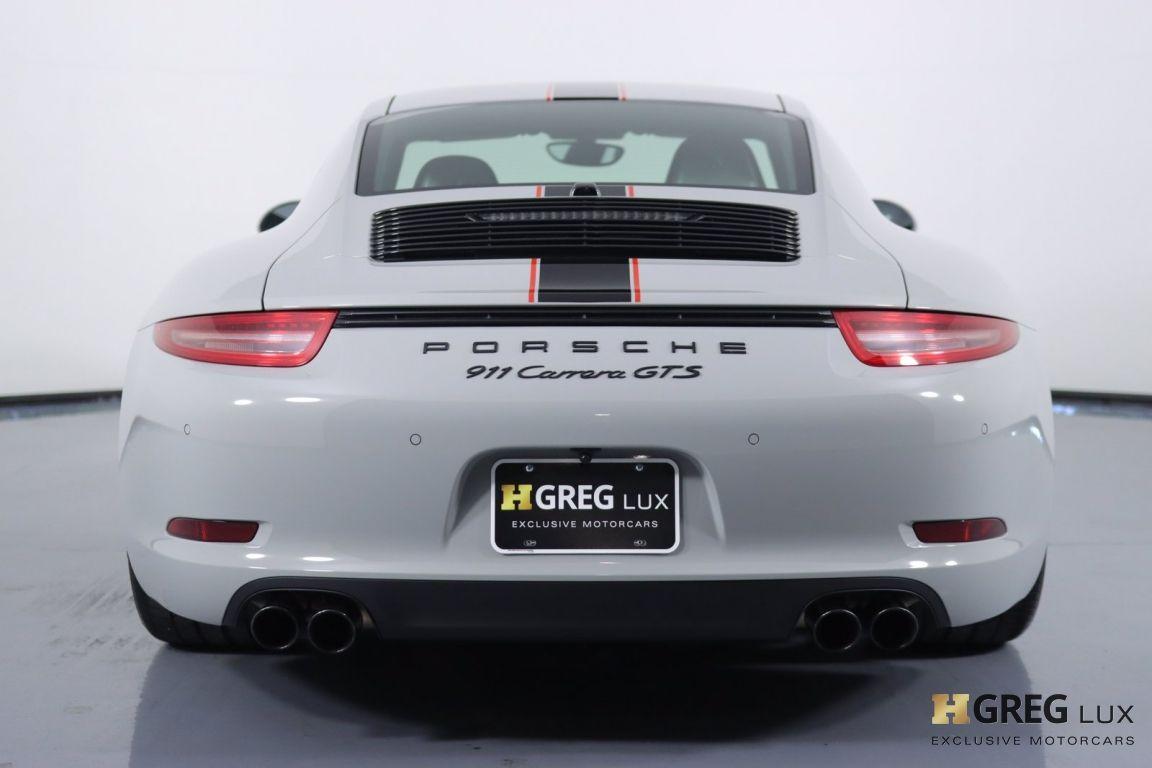2016 Porsche 911 Carrera GTS #17