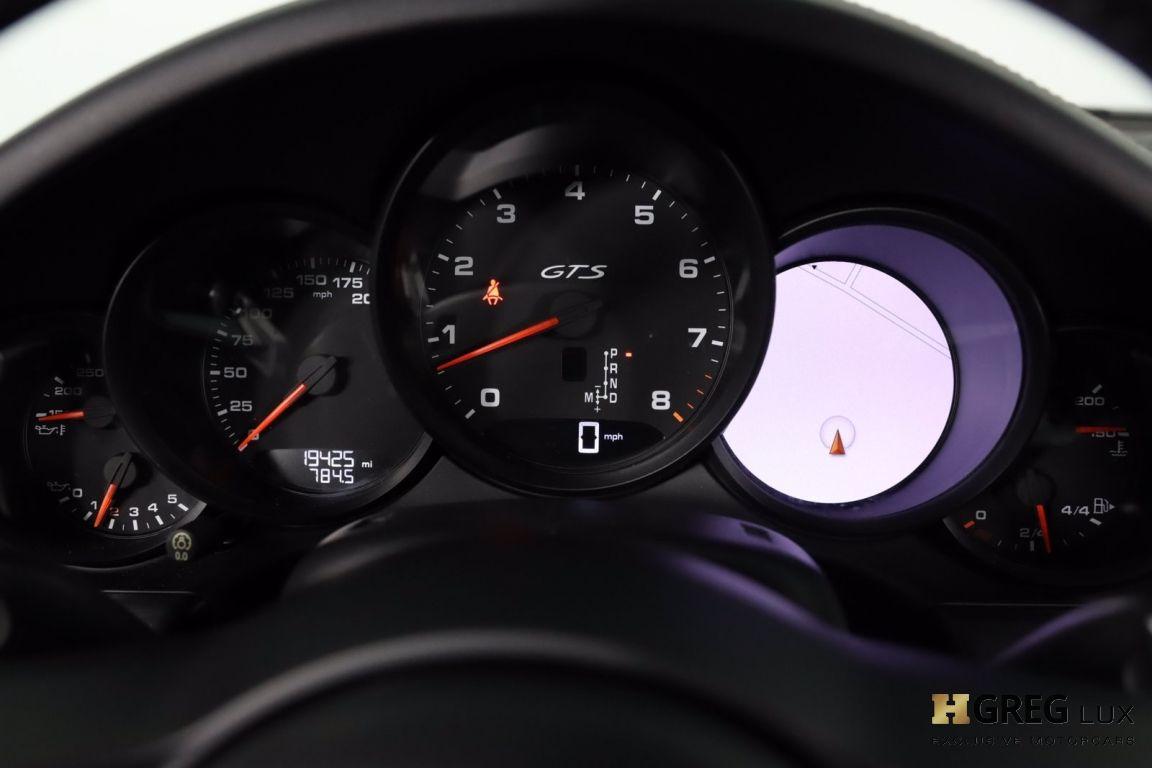 2018 Porsche 911 Carrera GTS #47