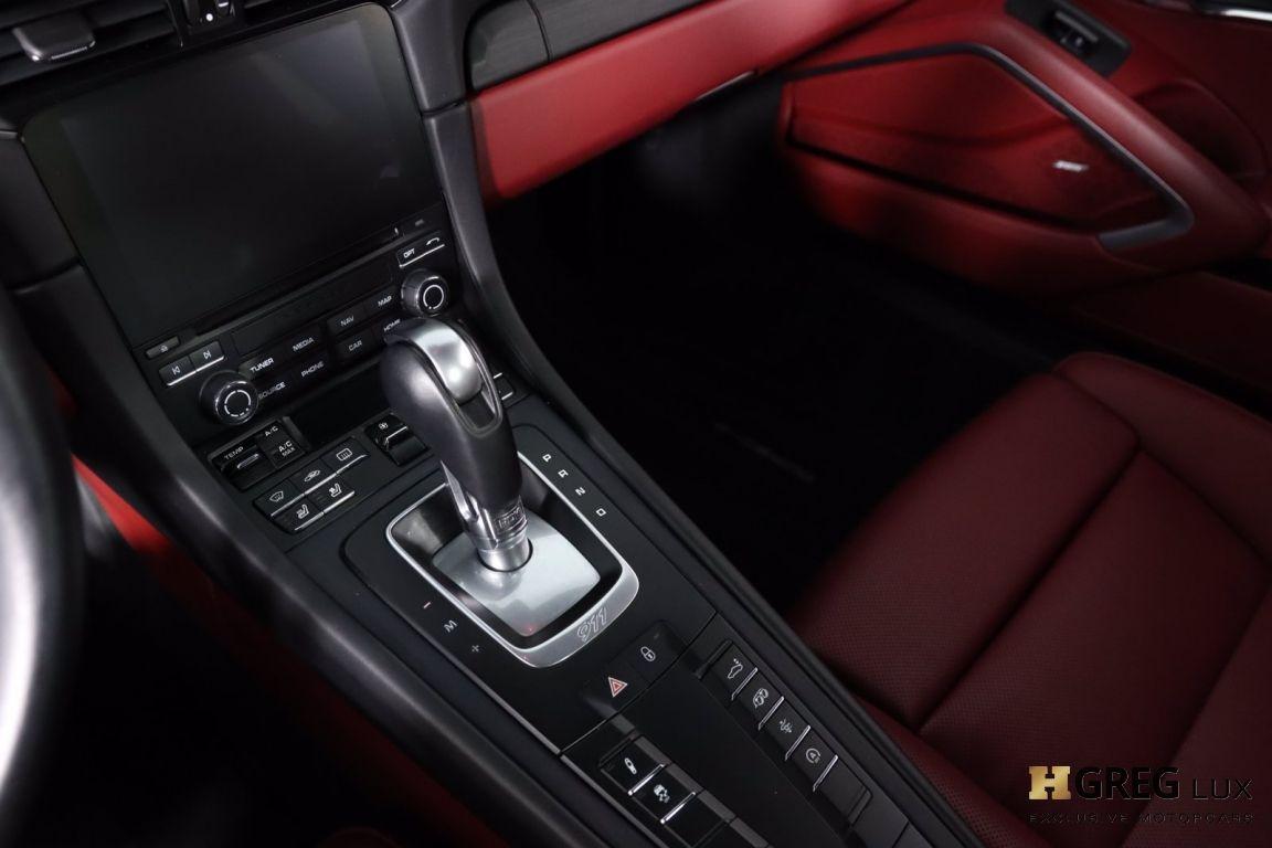 2018 Porsche 911 Carrera GTS #42
