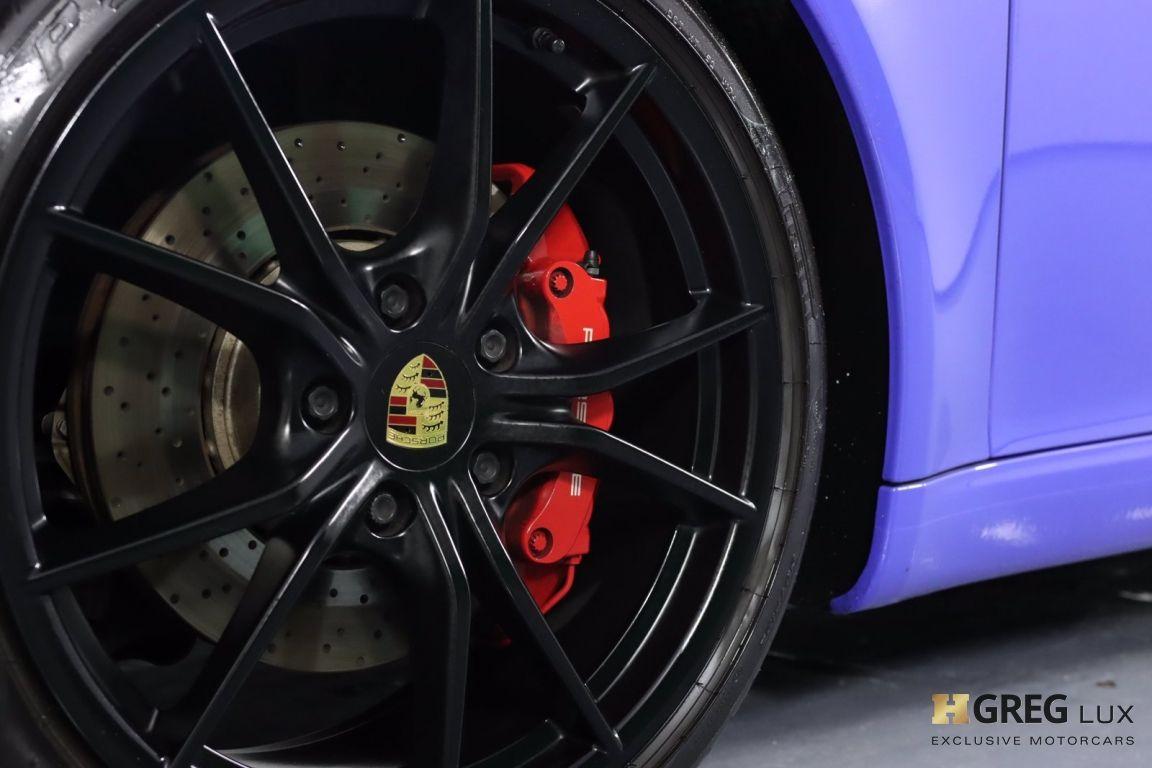 2017 Porsche 911 Carrera 4 GTS #27