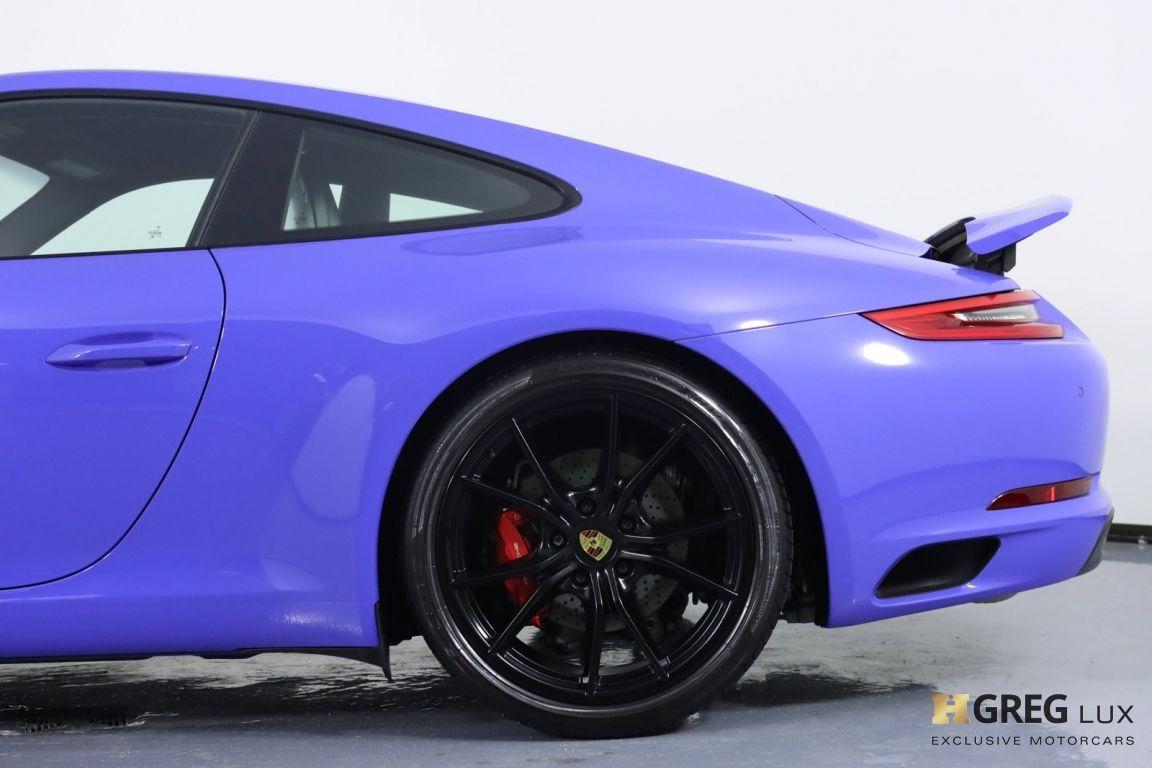 2017 Porsche 911 Carrera 4 GTS #28