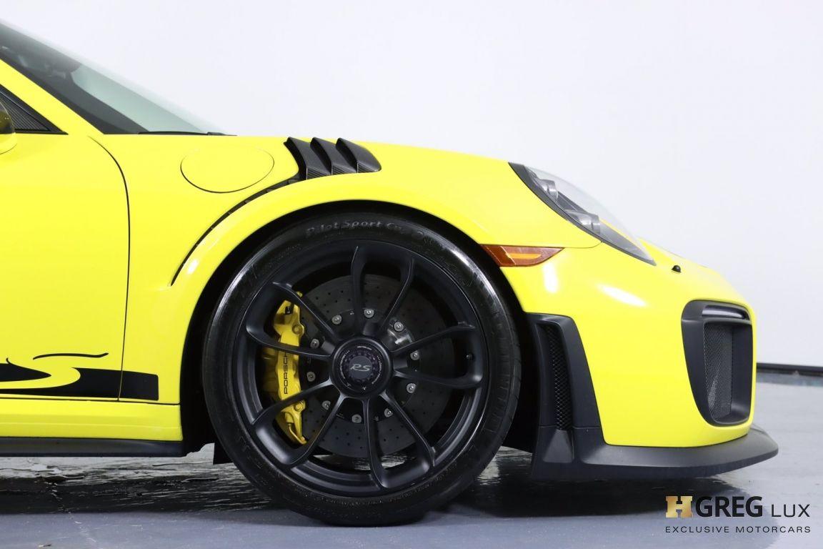 2018 Porsche 911 GT2 RS #13