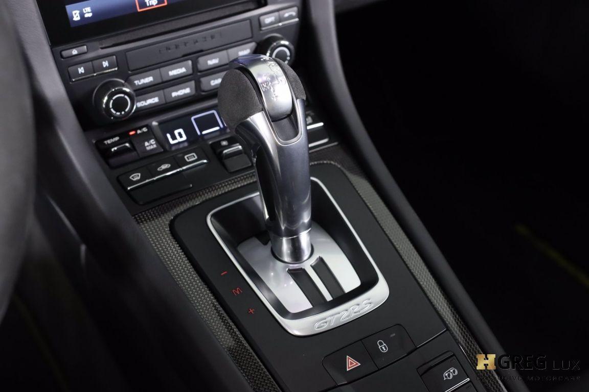 2018 Porsche 911 GT2 RS #52