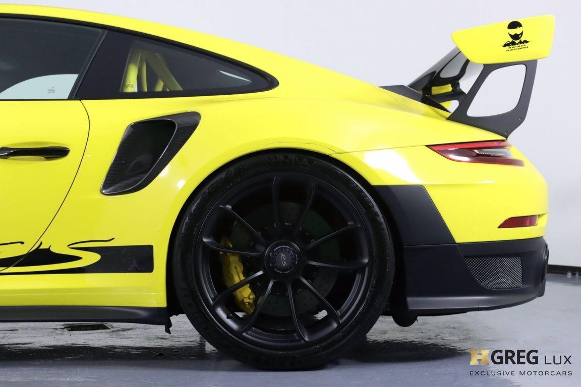 2018 Porsche 911 GT2 RS #33