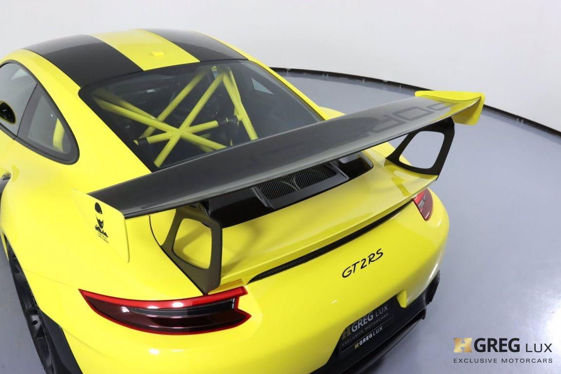 2018 Porsche 911 GT2 RS #25