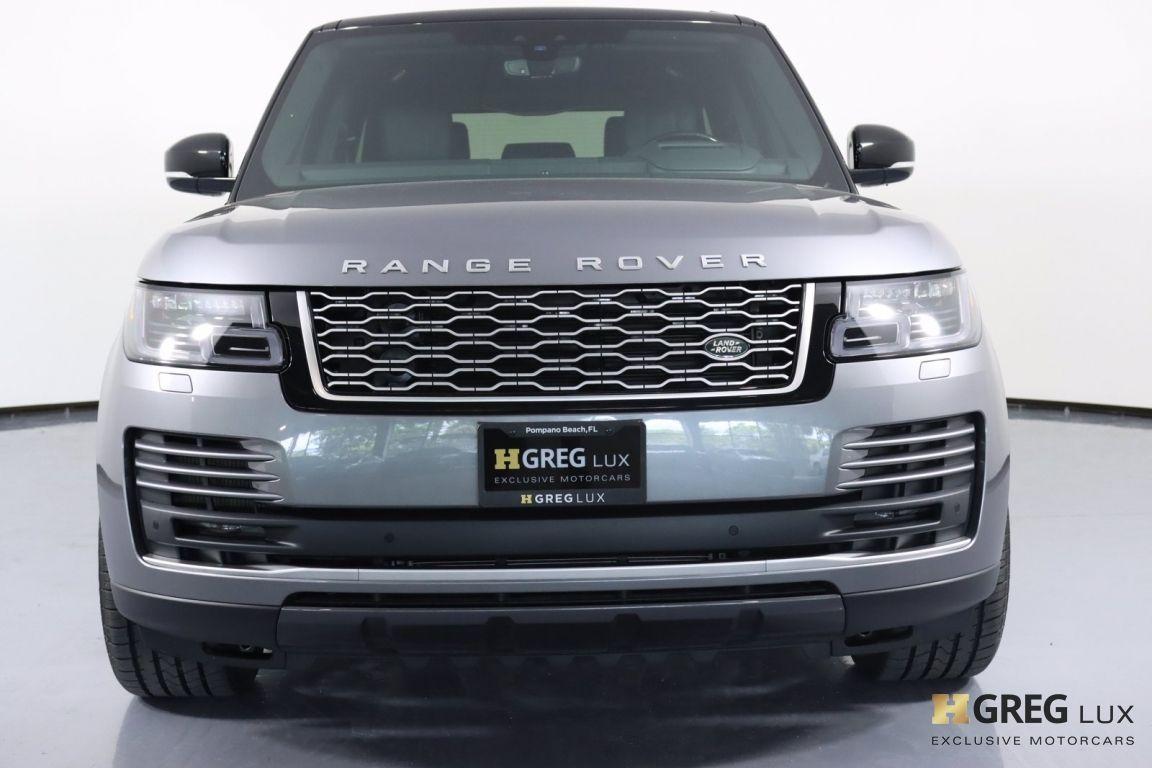 2020 Land Rover Range Rover HSE #4