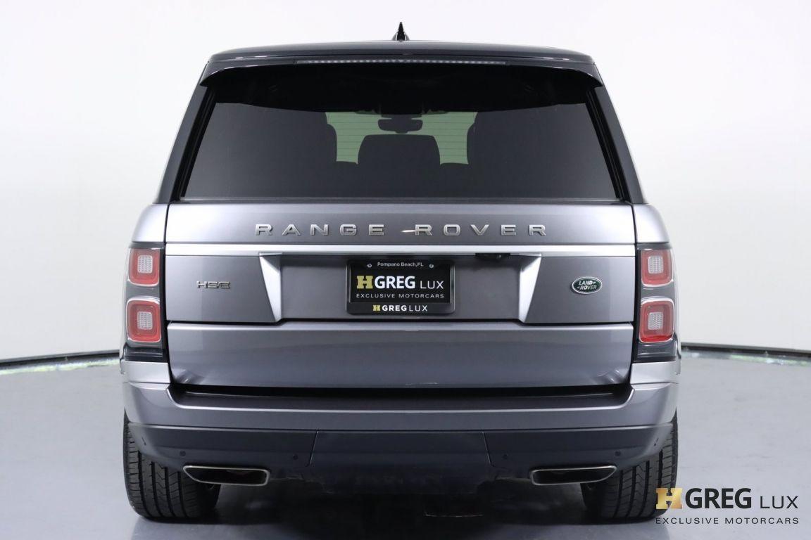 2020 Land Rover Range Rover HSE #18