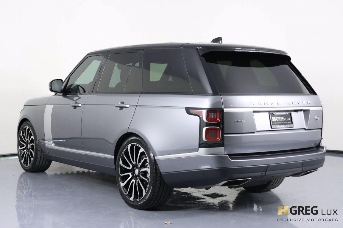 2020 Land Rover Range Rover HSE #24