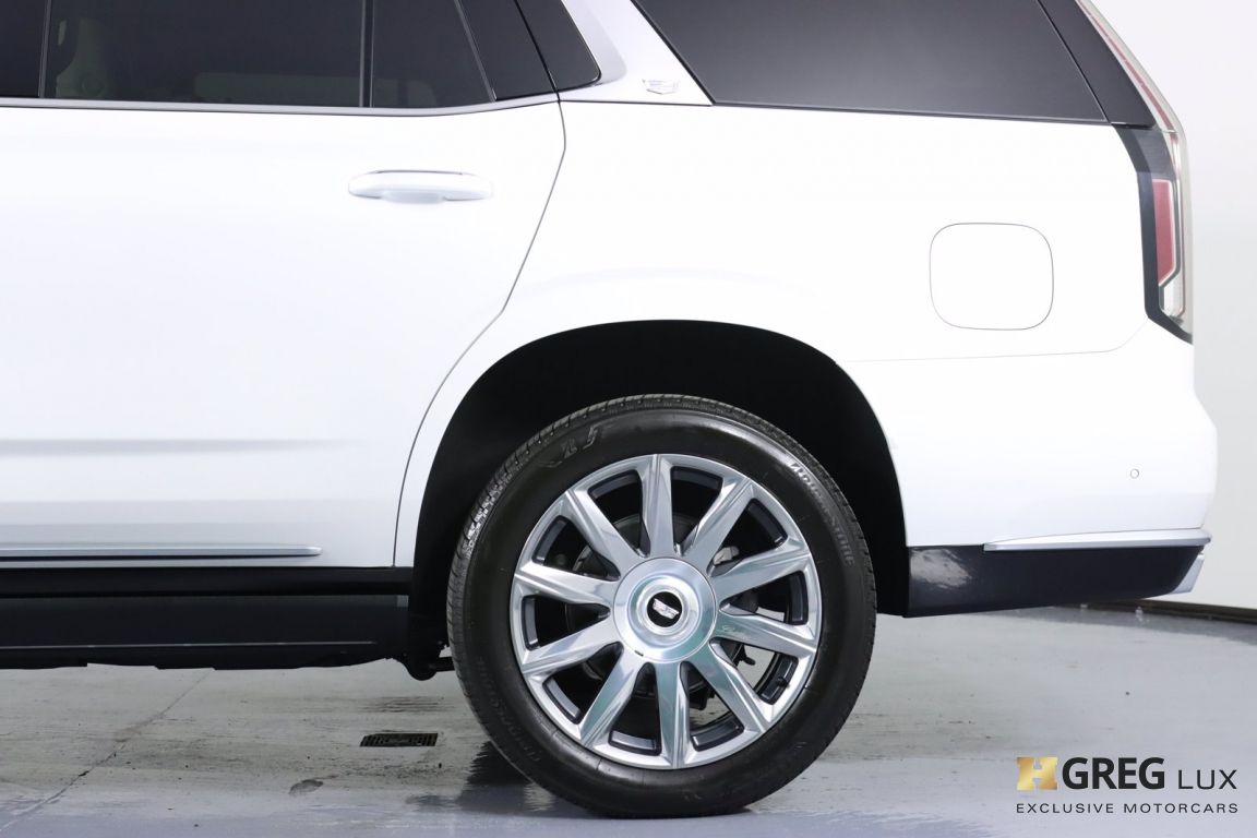 2021 Cadillac Escalade Premium Luxury Platinum #25