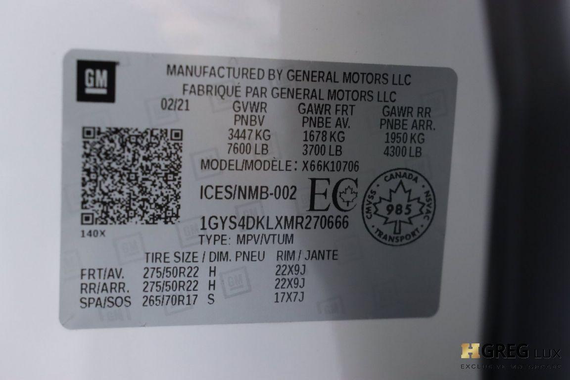 2021 Cadillac Escalade Premium Luxury Platinum #67