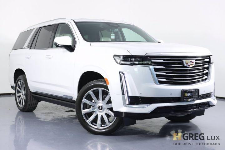 2021 Cadillac Escalade Premium Luxury Platinum #0
