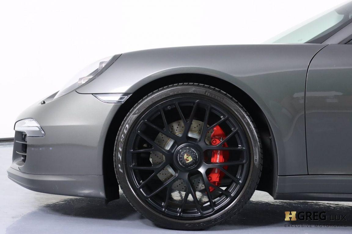2015 Porsche 911 Carrera GTS #25