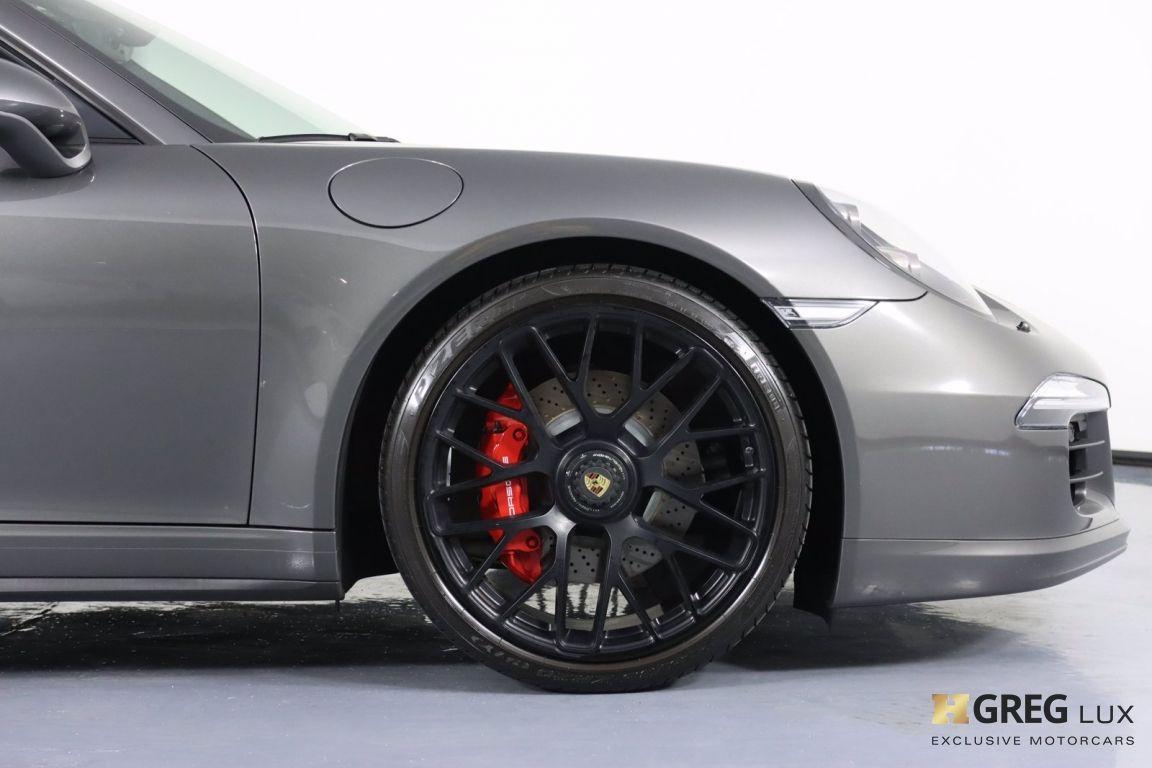 2015 Porsche 911 Carrera GTS #12