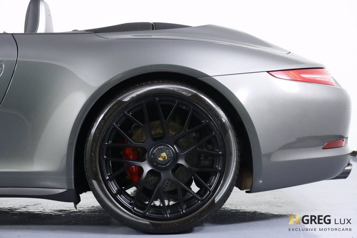 2015 Porsche 911 Carrera GTS #28