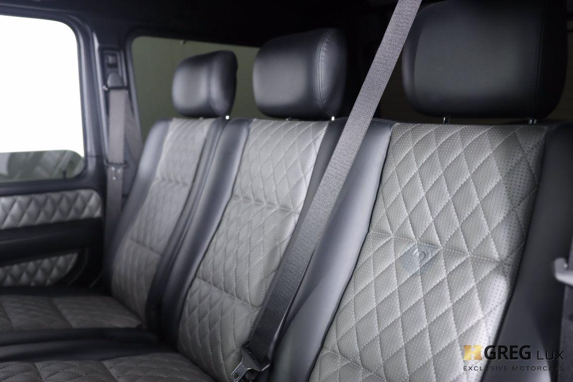 2015 Mercedes Benz G Class G 63 AMG #31