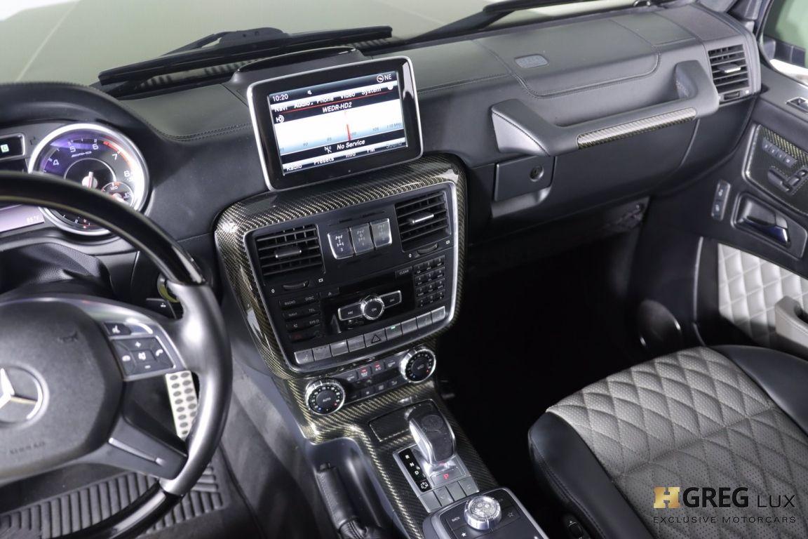 2015 Mercedes Benz G Class G 63 AMG #37