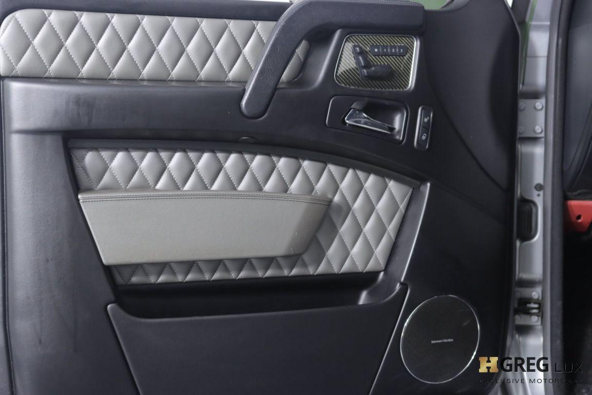 2015 Mercedes Benz G Class G 63 AMG #33