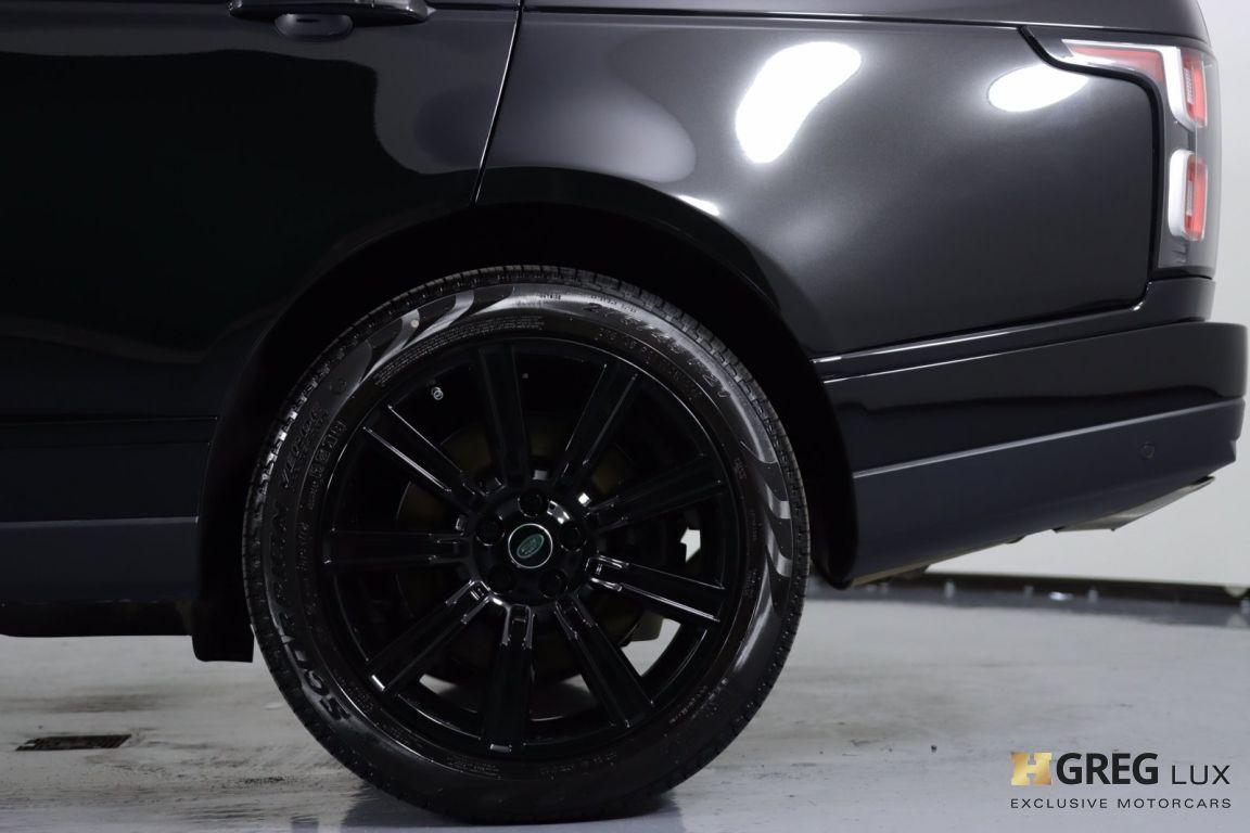 2020 Land Rover Range Rover P525 HSE #25