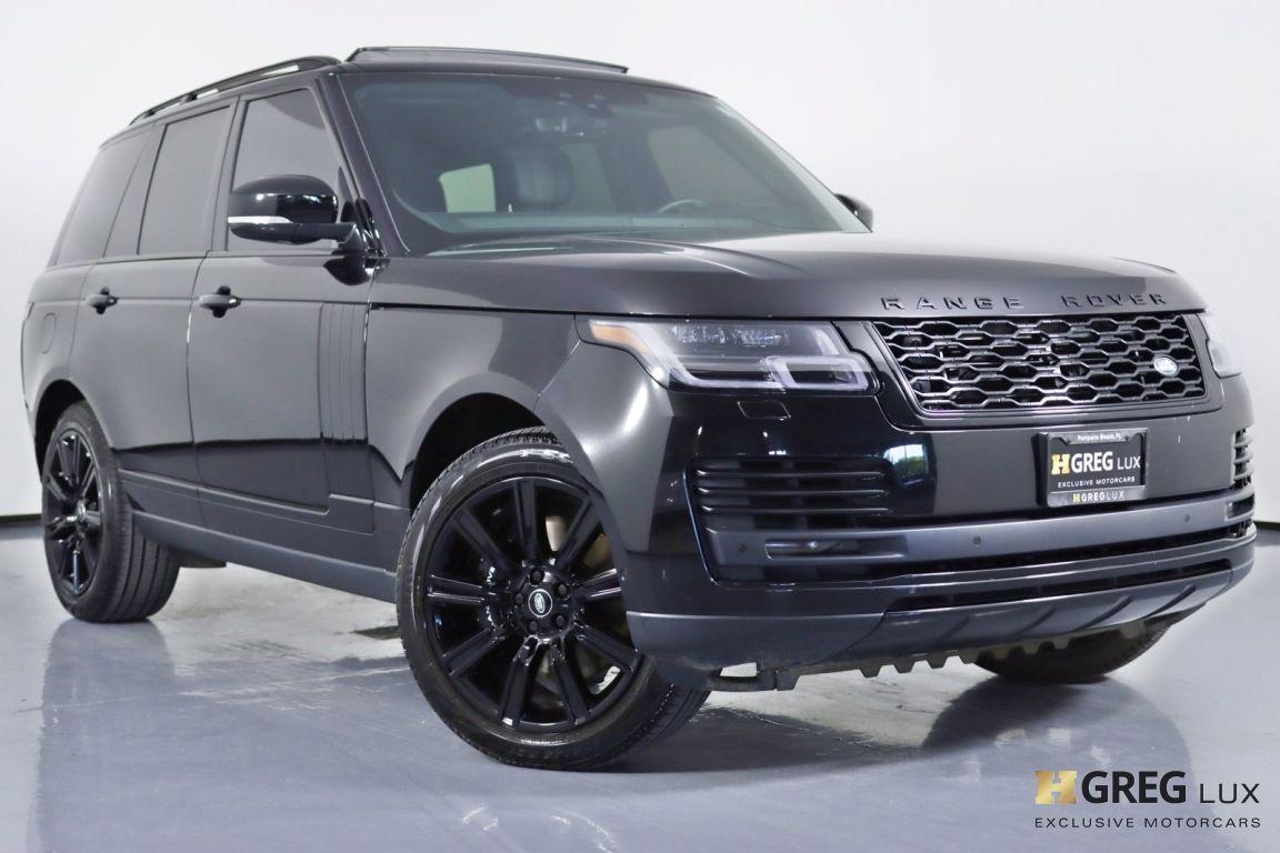 2020 Land Rover Range Rover P525 HSE #0