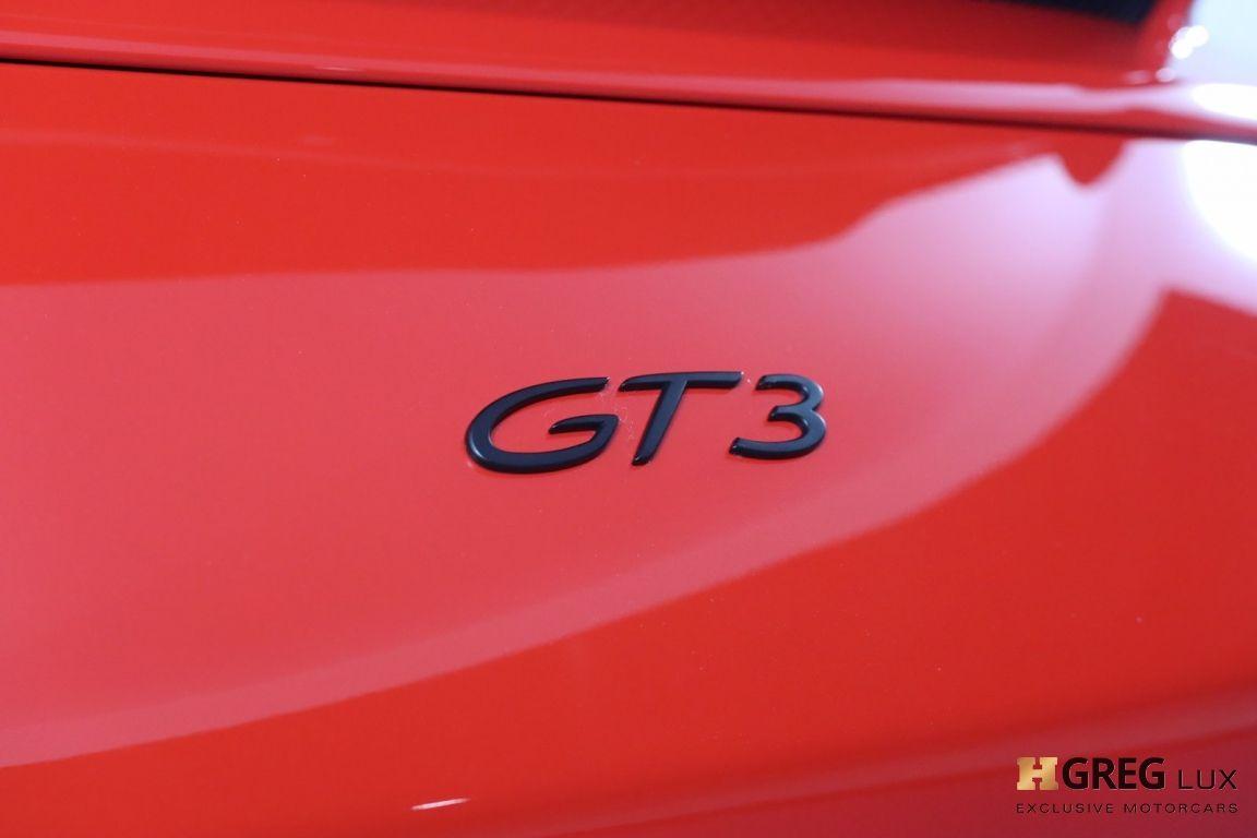 2018 Porsche 911 GT3 #17