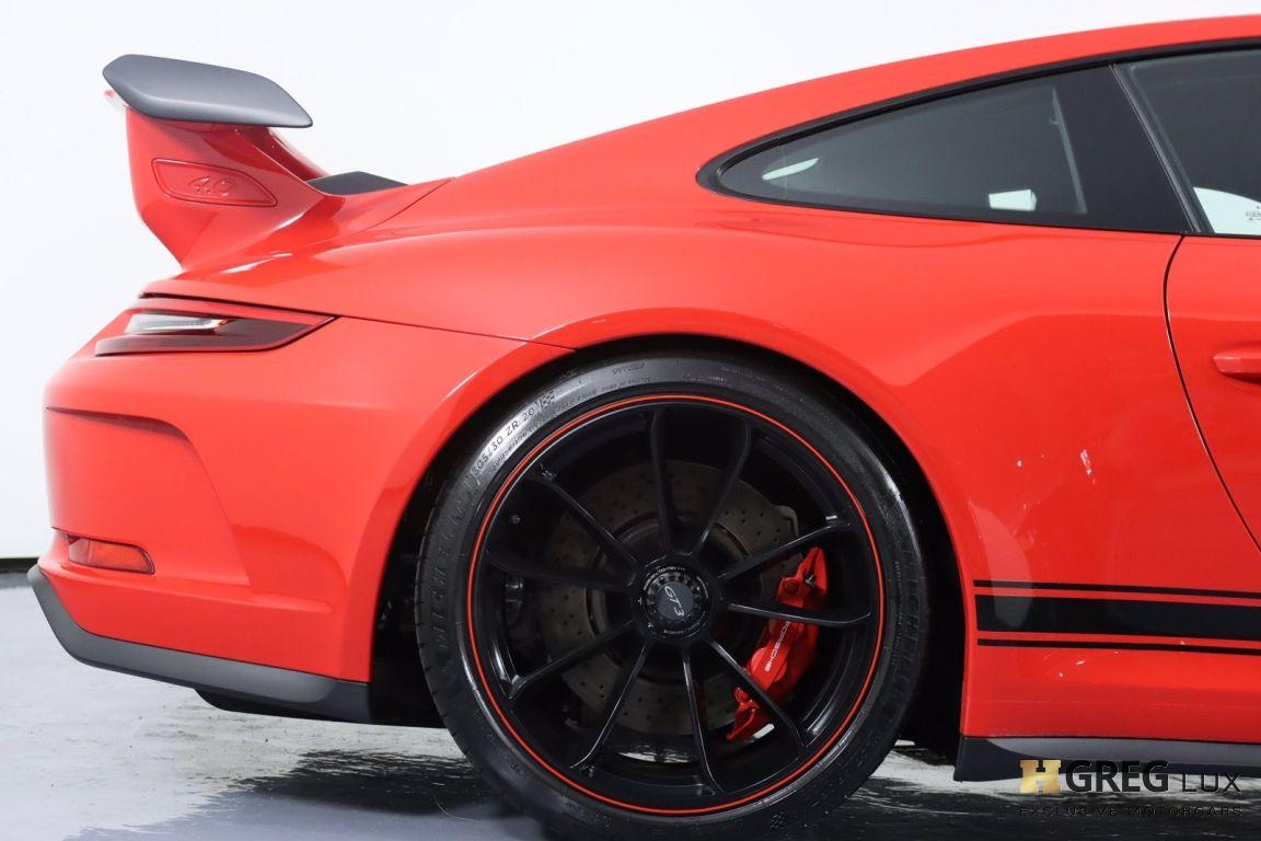 2018 Porsche 911 GT3 #12