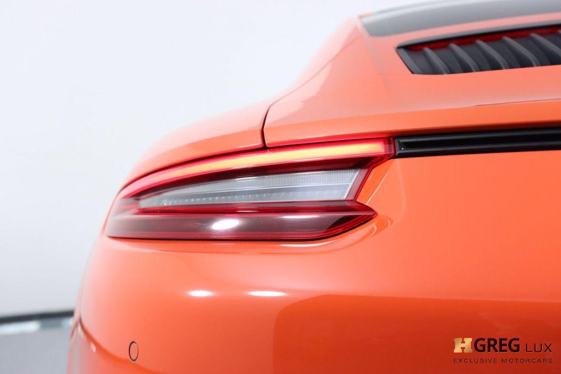 2019 Porsche 911 Carrera GTS #19