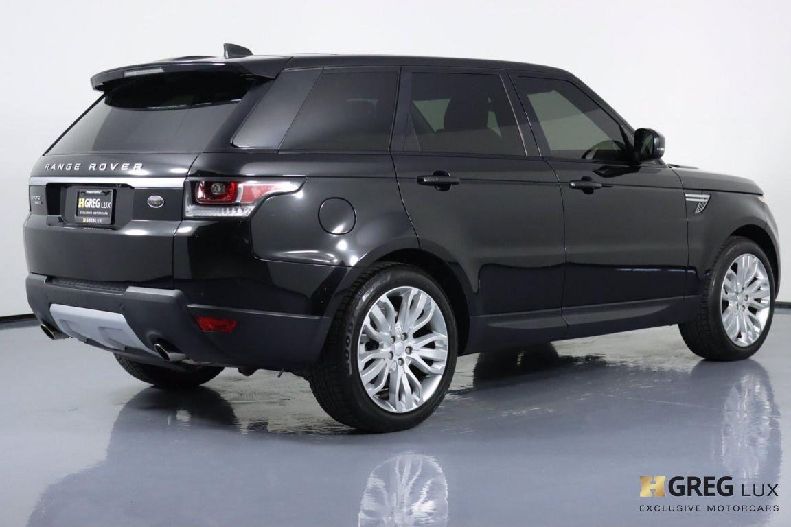 2017 Land Rover Range Rover Sport HSE #16