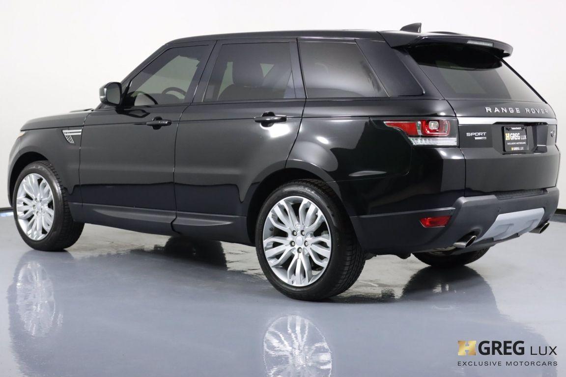 2017 Land Rover Range Rover Sport HSE #21