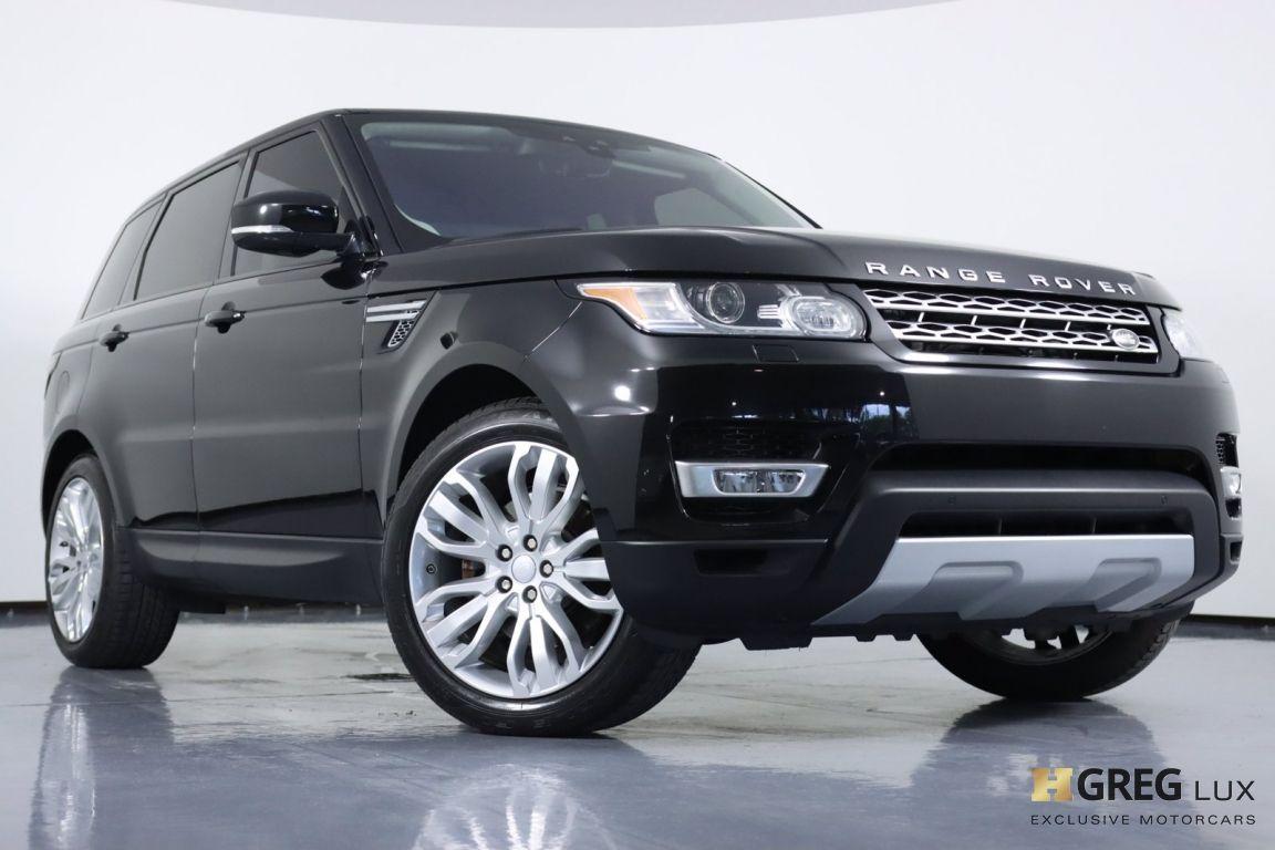 2017 Land Rover Range Rover Sport HSE #3