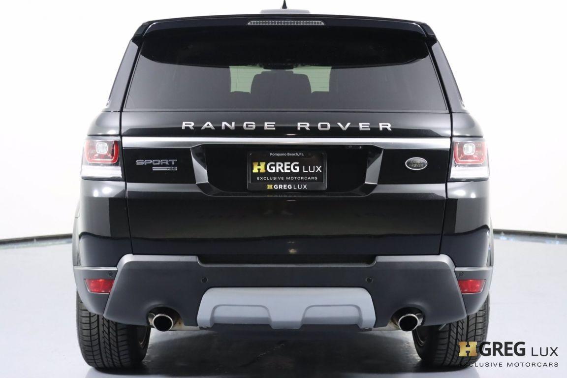 2017 Land Rover Range Rover Sport HSE #17