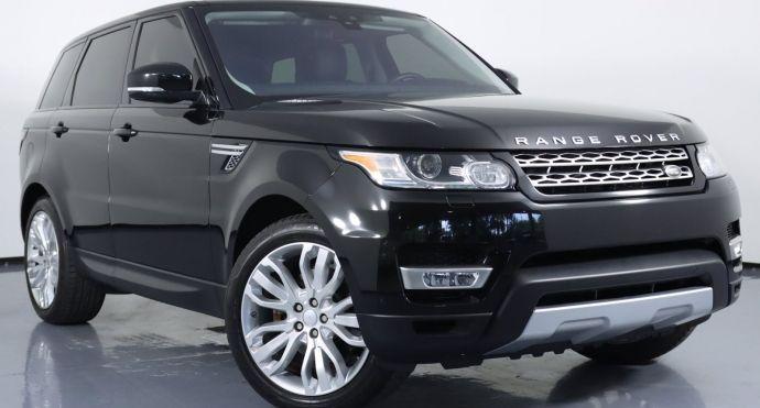 2017 Land Rover Range Rover Sport HSE #0