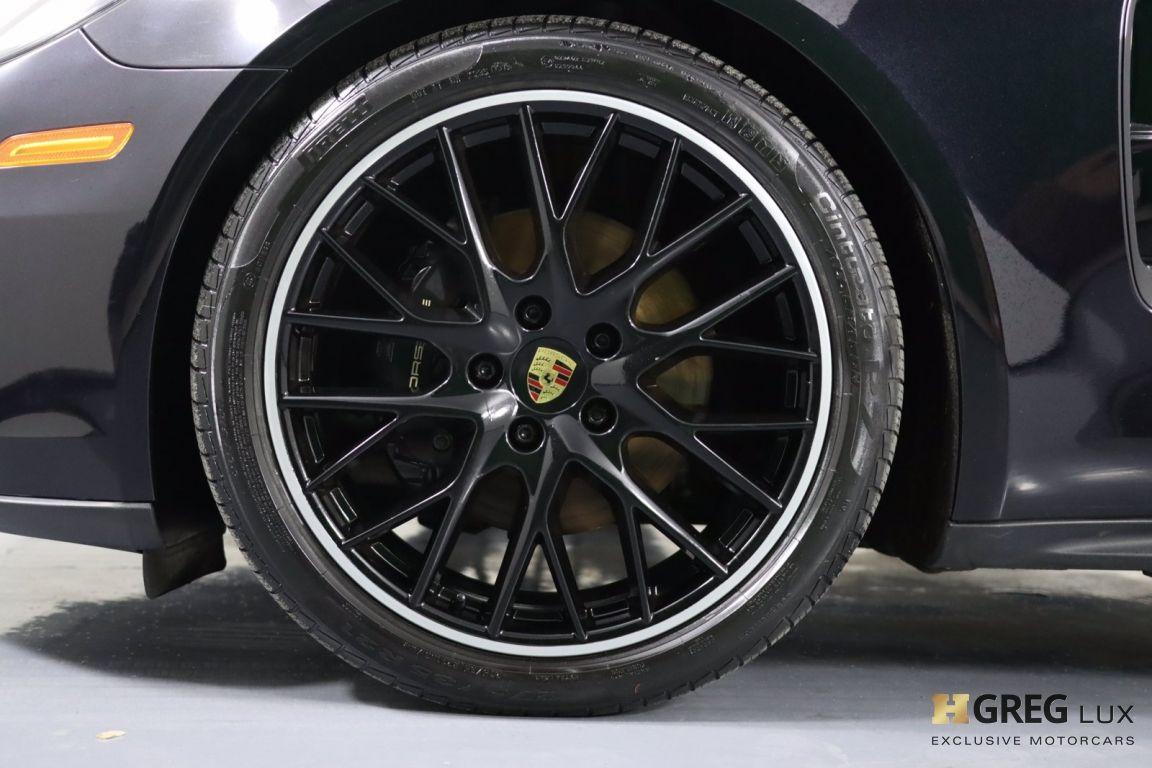 2018 Porsche Panamera 4 #24