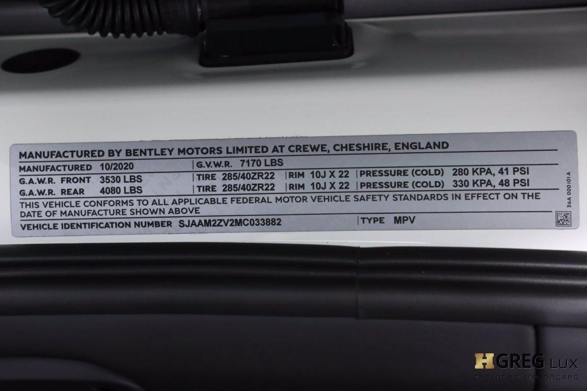 2021 Bentley Bentayga V8 #66