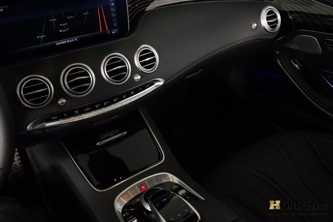 2019 Mercedes Benz S Class AMG S 65 #48