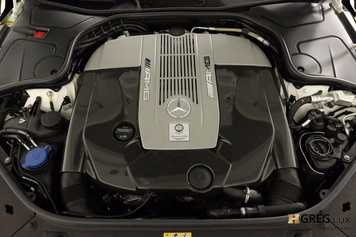 2019 Mercedes Benz S Class AMG S 65 #61
