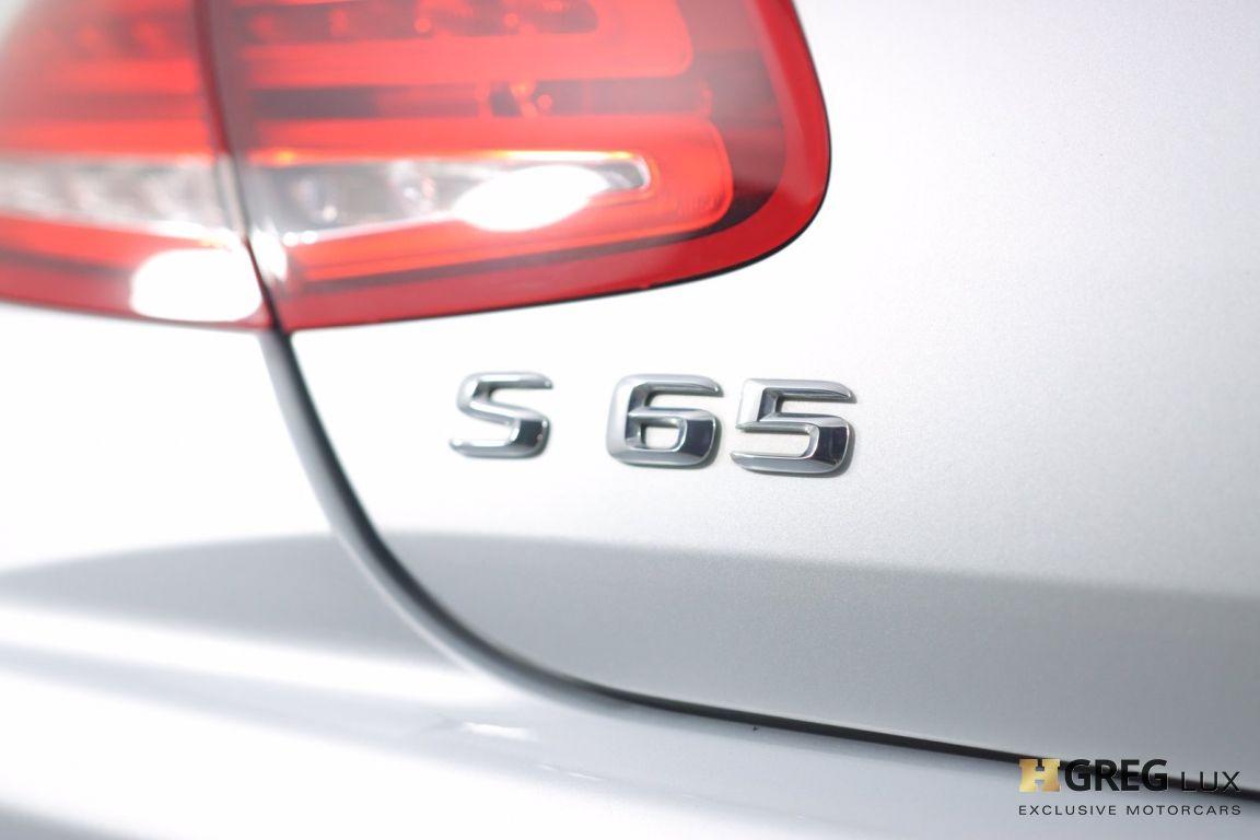 2016 Mercedes Benz S Class AMG S 65 #20