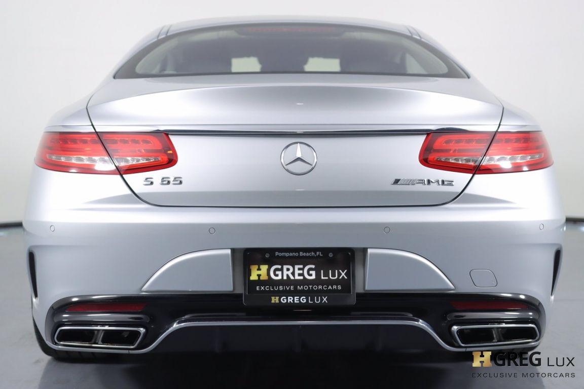 2016 Mercedes Benz S Class AMG S 65 #16