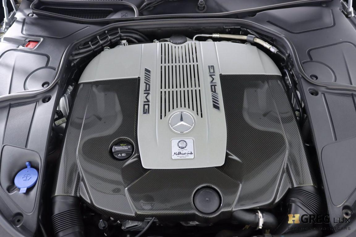 2016 Mercedes Benz S Class AMG S 65 #56
