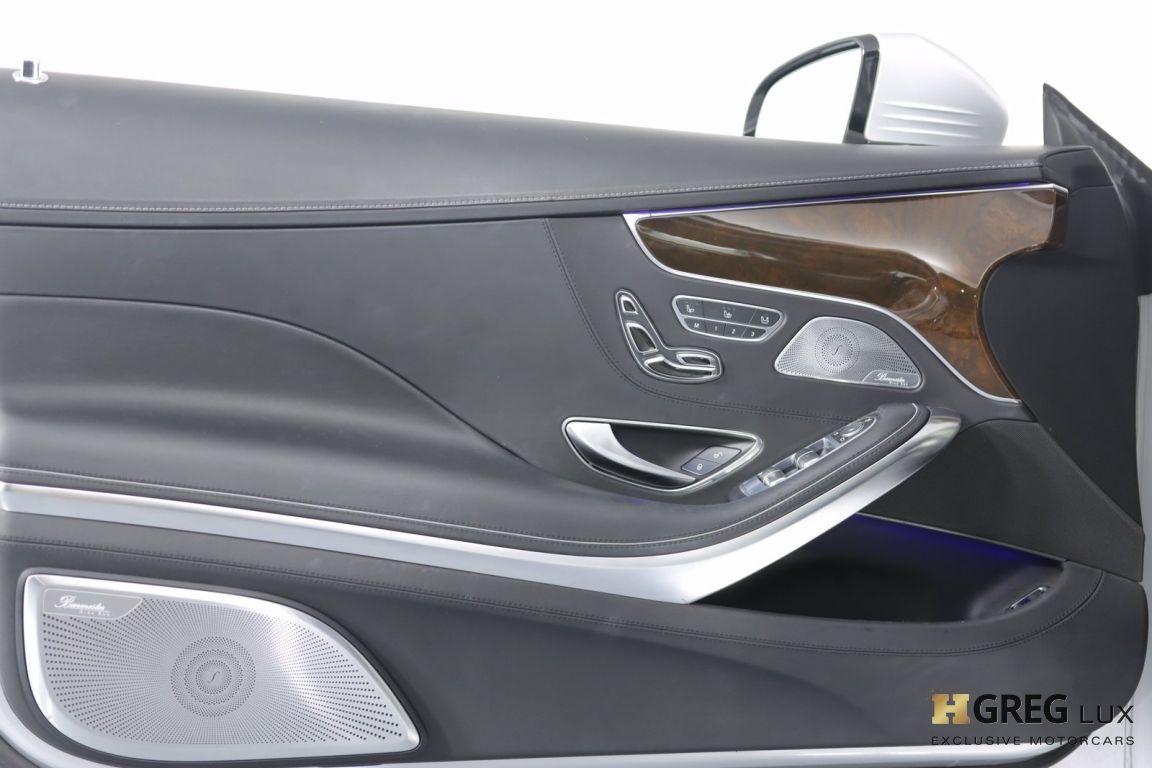 2016 Mercedes Benz S Class AMG S 65 #37