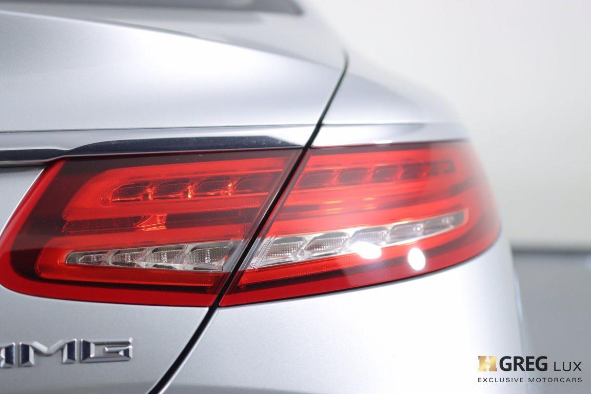 2016 Mercedes Benz S Class AMG S 65 #18