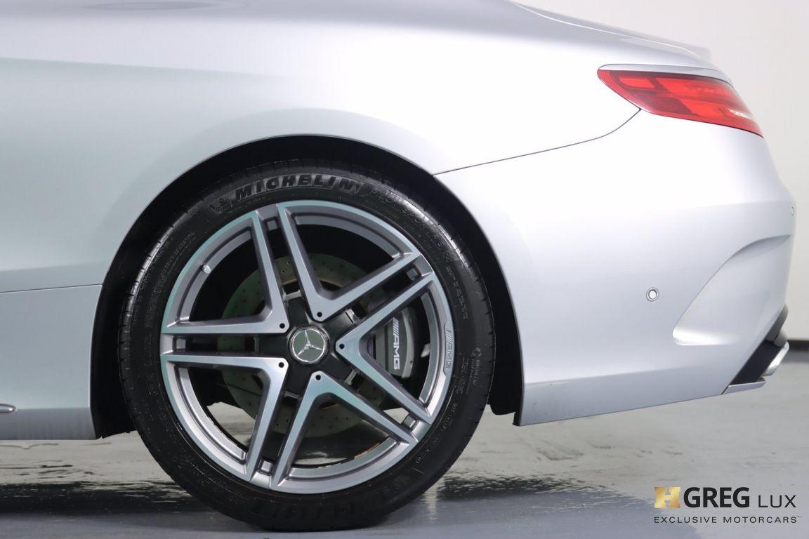 2016 Mercedes Benz S Class AMG S 65 #25