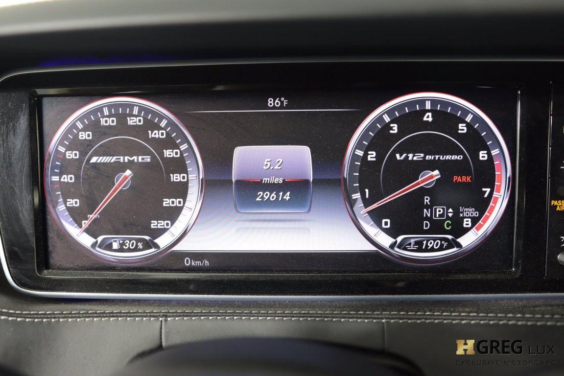 2016 Mercedes Benz S Class AMG S 65 #50