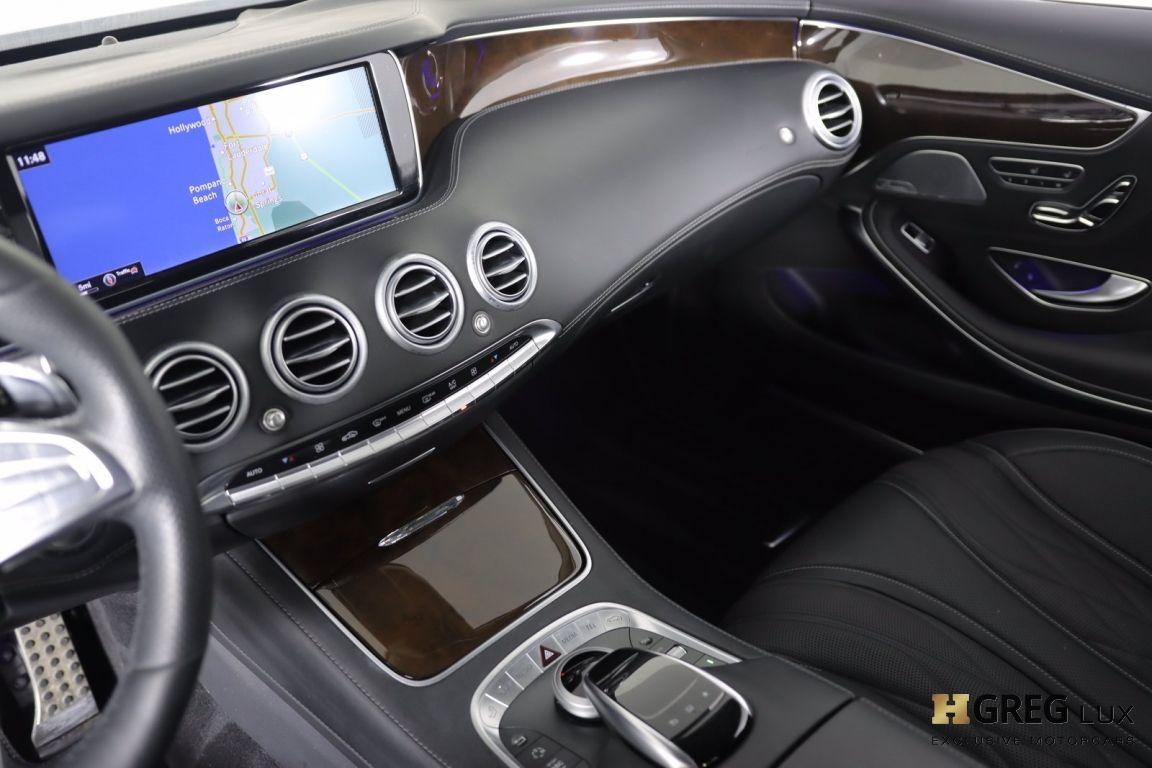 2016 Mercedes Benz S Class AMG S 65 #43