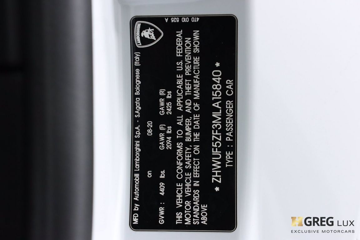 2021 Lamborghini Huracan EVO  #63